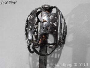 P60675 300x225 Scottish Basket Hilted Sword ANDRIA FARARA c 1720