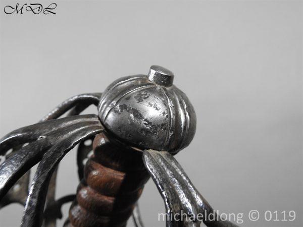 P60677 600x450 Scottish Basket Hilted Sword ANDRIA FARARA c 1720