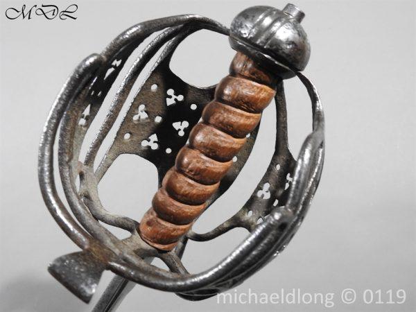 P60678 600x450 Scottish Basket Hilted Sword ANDRIA FARARA c 1720