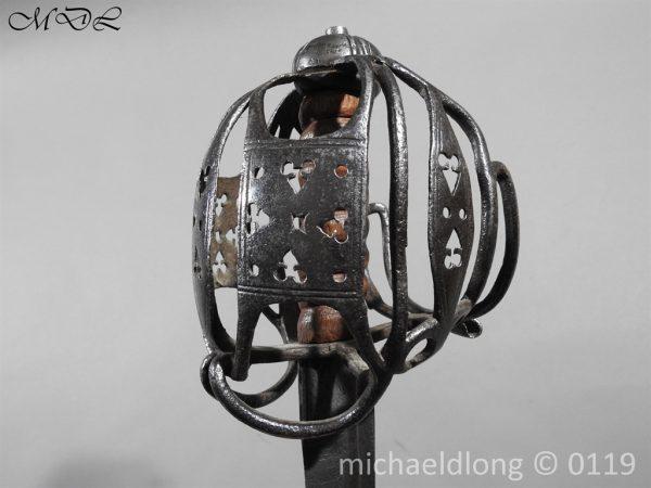 P60679 600x450 Scottish Basket Hilted Sword ANDRIA FARARA c 1720