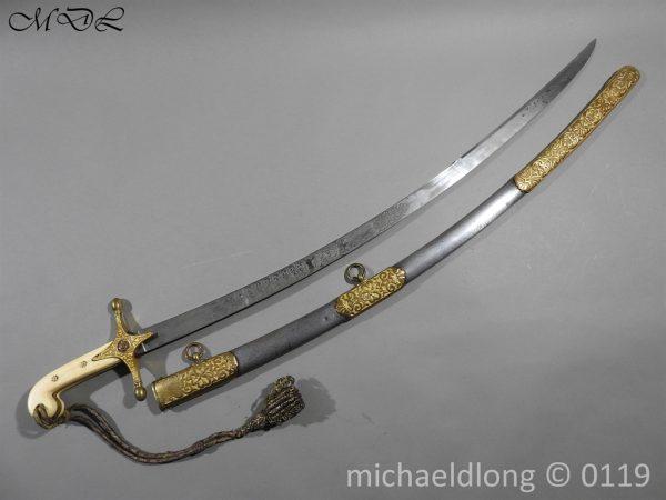 P60707 600x450 11th Hussars Prince Alberts Own Officer's Mameluke Sword