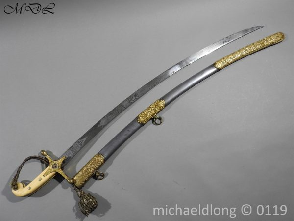 P60711 600x450 11th Hussars Prince Alberts Own Officer's Mameluke Sword