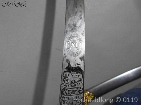 P60719 600x450 11th Hussars Prince Alberts Own Officer's Mameluke Sword