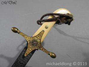 P60730 300x225 11th Hussars Prince Alberts Own Officer's Mameluke Sword