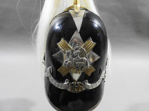 DSCN9839 300x225 Scottish Fife Mounted Rifles Victorian Officer's Helmet