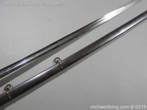 michaeldlong.com 106 300x225 Victorian Royal Artillery Patent Tang Officer's Sword
