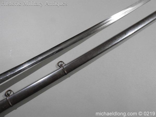 michaeldlong.com 106 600x450 Victorian Royal Artillery Patent Tang Officer's Sword
