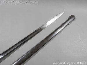 michaeldlong.com 107 300x225 Victorian Royal Artillery Patent Tang Officer's Sword