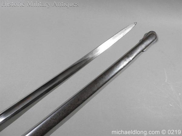 michaeldlong.com 107 600x450 Victorian Royal Artillery Patent Tang Officer's Sword