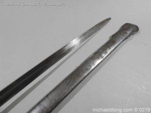 michaeldlong.com 111 300x225 Victorian Royal Artillery Patent Tang Officer's Sword