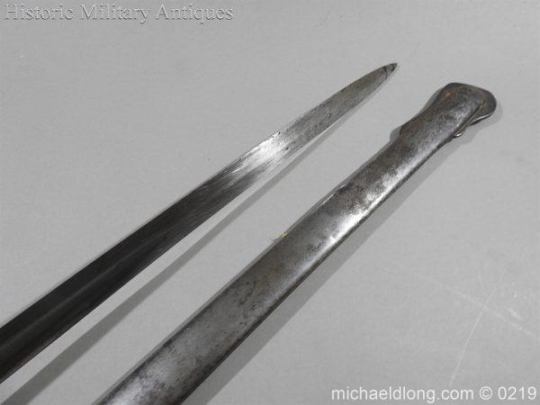 michaeldlong.com 111 600x450 Victorian Royal Artillery Patent Tang Officer's Sword