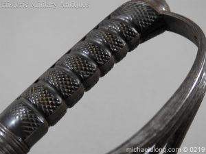 michaeldlong.com 128 300x225 Victorian Royal Artillery Patent Tang Officer's Sword