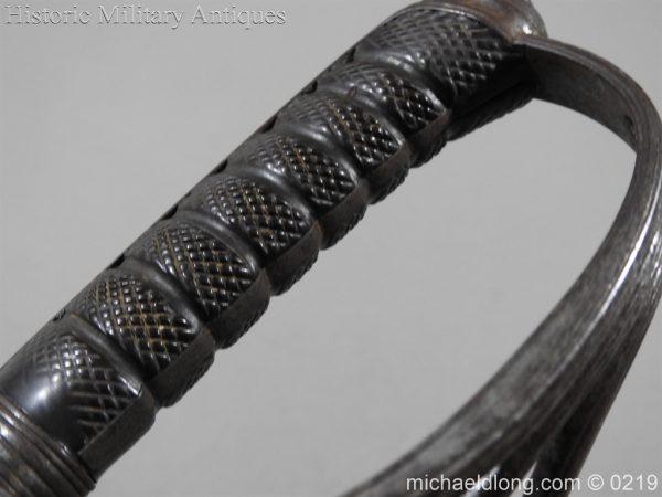 michaeldlong.com 128 600x450 Victorian Royal Artillery Patent Tang Officer's Sword