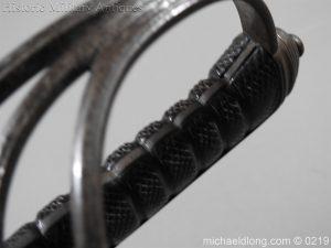 michaeldlong.com 130 300x225 Victorian Royal Artillery Patent Tang Officer's Sword