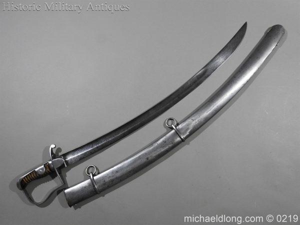 michaeldlong.com 133 600x450 Greek Cavalry Officer's Sword 1796