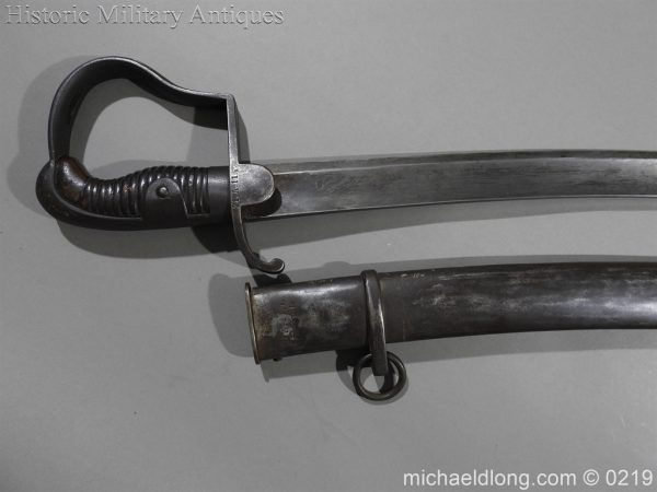 michaeldlong.com 238 600x450 Prussian Model 1811 BLUCHER Troopers Sword