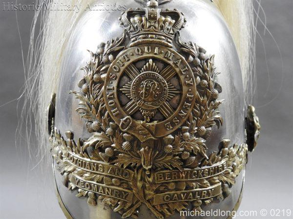 michaeldlong.com 279 600x450 Scottish Lothians and Berwickshire Yeomanry Cavalry Helmet