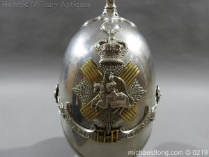 michaeldlong.com 298 300x225 Scottish Fife Light Horse 1871 pattern Officer's Helmet