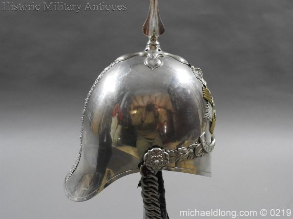 michaeldlong.com 300 600x450 Scottish Fife Light Horse 1871 pattern Officer's Helmet