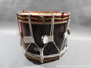 michaeldlong.com 340 300x225 Royal Scots Fusiliers Regimental Drum by Potters