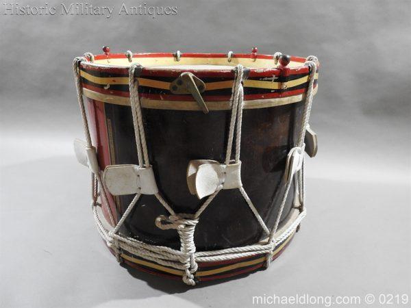 michaeldlong.com 340 600x450 Royal Scots Fusiliers Regimental Drum by Potters