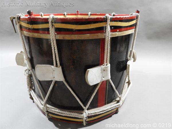 michaeldlong.com 341 600x450 Royal Scots Fusiliers Regimental Drum by Potters