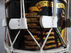 michaeldlong.com 342 300x225 Royal Scots Fusiliers Regimental Drum by Potters