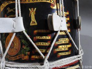 michaeldlong.com 345 300x225 Royal Scots Fusiliers Regimental Drum by Potters