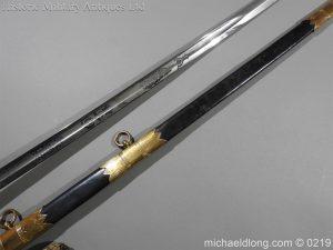 michaeldlong.com 61 300x225 Royal Naval WW1 Presentation Sword E Evans D S O