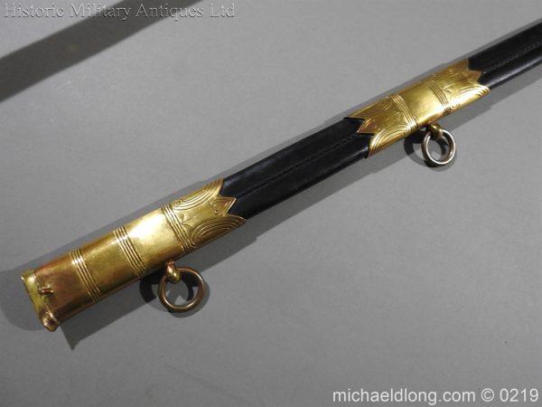 michaeldlong.com 67 600x450 Royal Naval WW1 Presentation Sword E Evans D S O