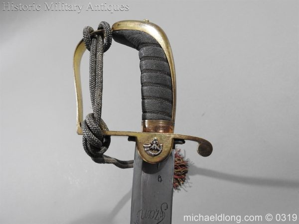 michaeldlong.com 1011 600x450 Kings German Legion Officer's Sword