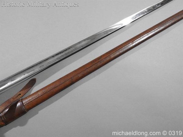 michaeldlong.com 460 600x450 Northumberland Fusiliers Victorian Officer's Sword