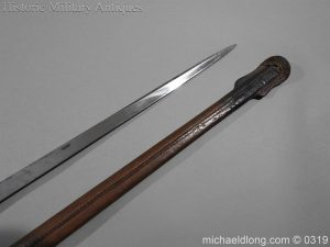 michaeldlong.com 461 300x225 Northumberland Fusiliers Victorian Officer's Sword