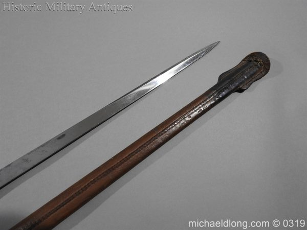 michaeldlong.com 461 600x450 Northumberland Fusiliers Victorian Officer's Sword