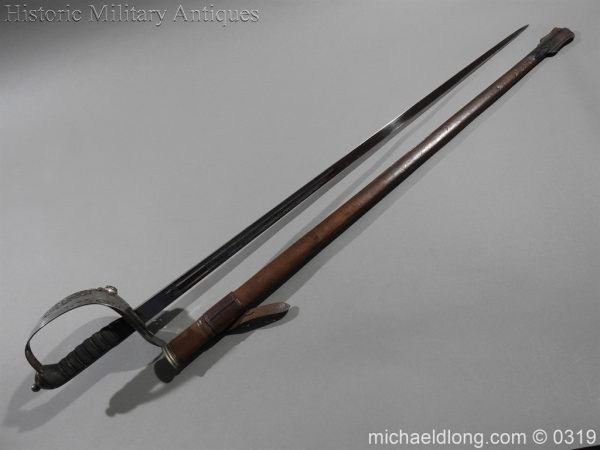 michaeldlong.com 462 600x450 Northumberland Fusiliers Victorian Officer's Sword