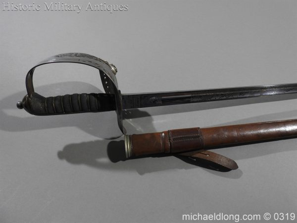 michaeldlong.com 463 600x450 Northumberland Fusiliers Victorian Officer's Sword