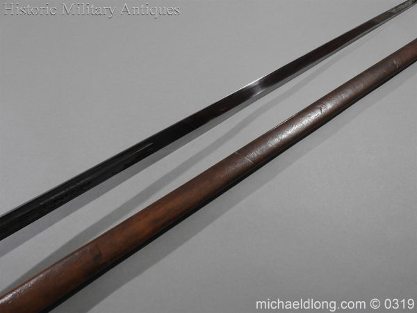 michaeldlong.com 464 600x450 Northumberland Fusiliers Victorian Officer's Sword