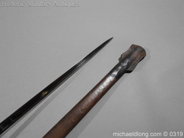 michaeldlong.com 465 600x450 Northumberland Fusiliers Victorian Officer's Sword