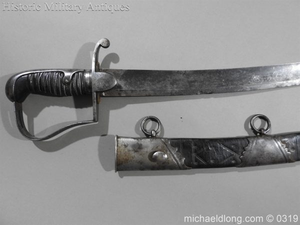 michaeldlong.com 540 600x450 1796 Light Cavalry Officer's Sword by Osborn