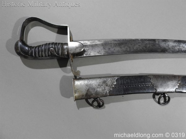 michaeldlong.com 544 600x450 1796 Light Cavalry Officer's Sword by Osborn