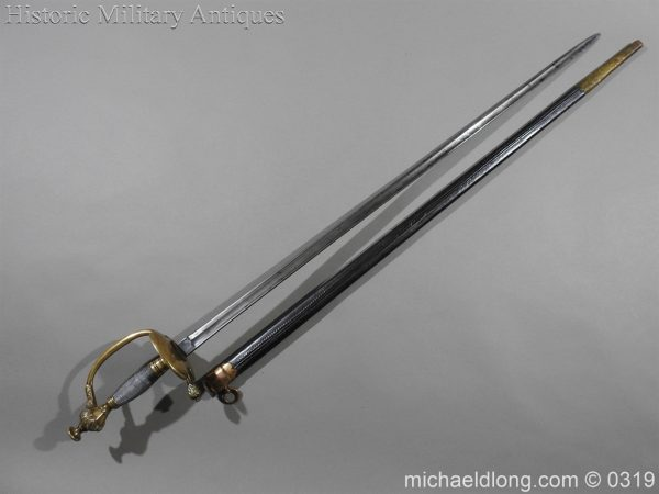 michaeldlong.com 616 600x450 German Infantry Officer's Degen Sword