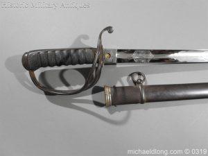 michaeldlong.com 754 300x225 West Somerset 1821 Cavalry Officer's Sword by Wilkinson