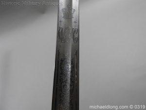 michaeldlong.com 766 300x225 West Somerset 1821 Cavalry Officer's Sword by Wilkinson