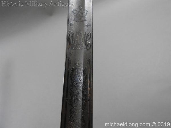 michaeldlong.com 766 600x450 West Somerset 1821 Cavalry Officer's Sword by Wilkinson