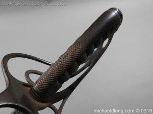 michaeldlong.com 777 300x225 West Somerset 1821 Cavalry Officer's Sword by Wilkinson