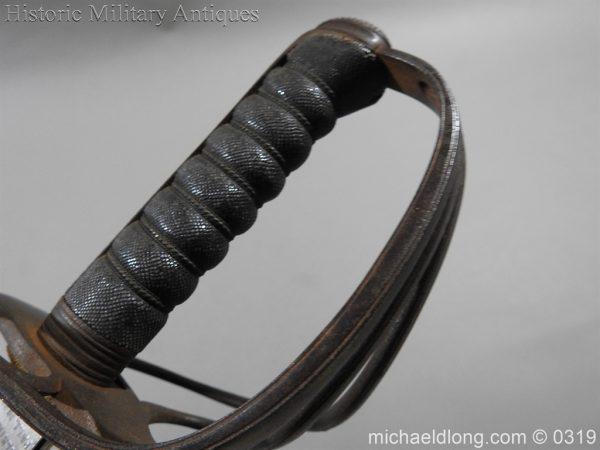 michaeldlong.com 778 600x450 West Somerset 1821 Cavalry Officer's Sword by Wilkinson