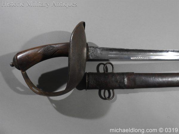 michaeldlong.com 782 600x450 Indian 33rd Regiment Poona Horse Cavalry Sword