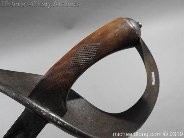 michaeldlong.com 804 600x450 Indian 33rd Regiment Poona Horse Cavalry Sword