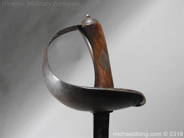 michaeldlong.com 808 600x450 Indian 33rd Regiment Poona Horse Cavalry Sword