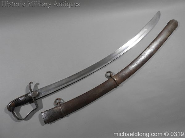 michaeldlong.com 832 600x450 British 1796 Light Cavalry Sword By Dawes Birmingham